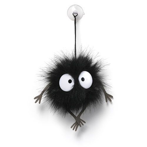 Studio Ghibli: Soot Sprite - Suction Cup Plush