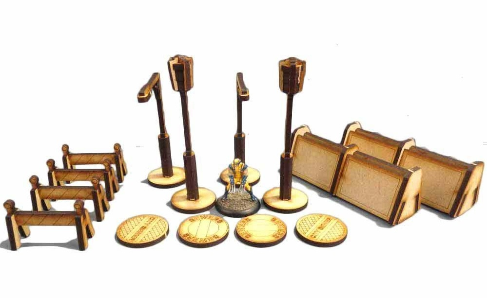 TTCombat: Tabletop Scenics – Street Accessories image