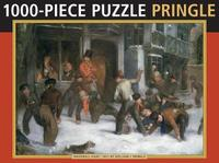 Jigsaw Puzzle: Snowball Fight by Pringle by Pringle image