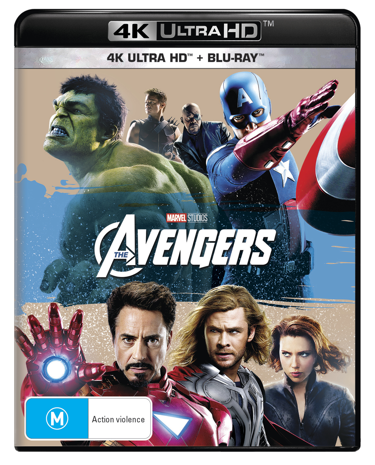 The Avengers on UHD Blu-ray image