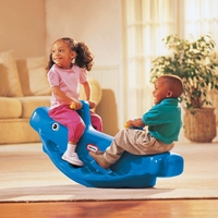 Little Tikes: Whale Teeter Totter - Blue image