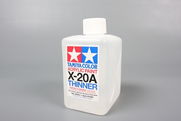 Tamiya - X-20A Acrylic Thinner (250ml)
