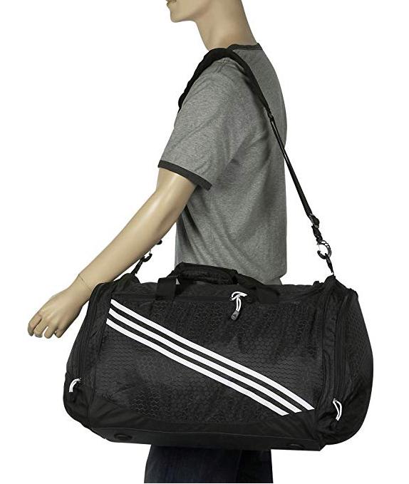 Adidas University Medium Duffle 09 Color Black image