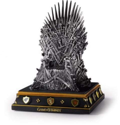 Game of Thrones Iron Throne Bookend Statue
