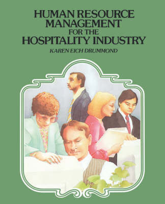 Human Resource Management for the Hospitality Industry by Karen Eich Drummond image
