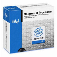 Intel Celeron D #340 2.93GHZ 533MSB 256K LGA775 Retail Box With Fan image