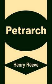 Petrarch by Henry Reeve image