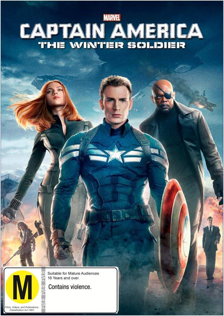 Captain America: The Winter Soldier on DVD image