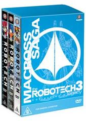 Robotech - Macross Saga: Collection 3 (3 disc boxed set) on DVD