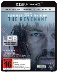 The Revenant (4K UHD + UV + Blu-ray) DVD