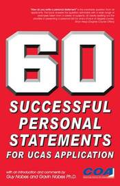 60 Successful Personal Statements by Guy Nobes