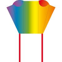 """HQ Kites: Pocket Sled Rainbow - 17"""" Sled Kite"""