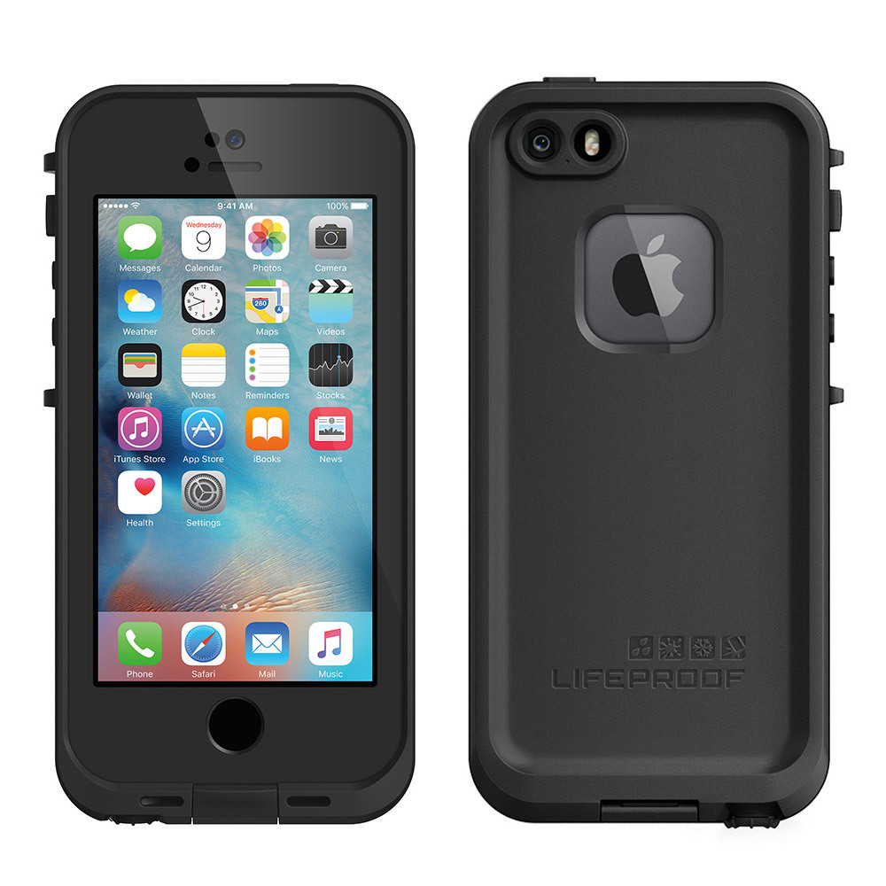 lifeproof fre iphone 5 lifeproof fre iphone 5 5s se black at mighty ape 15624