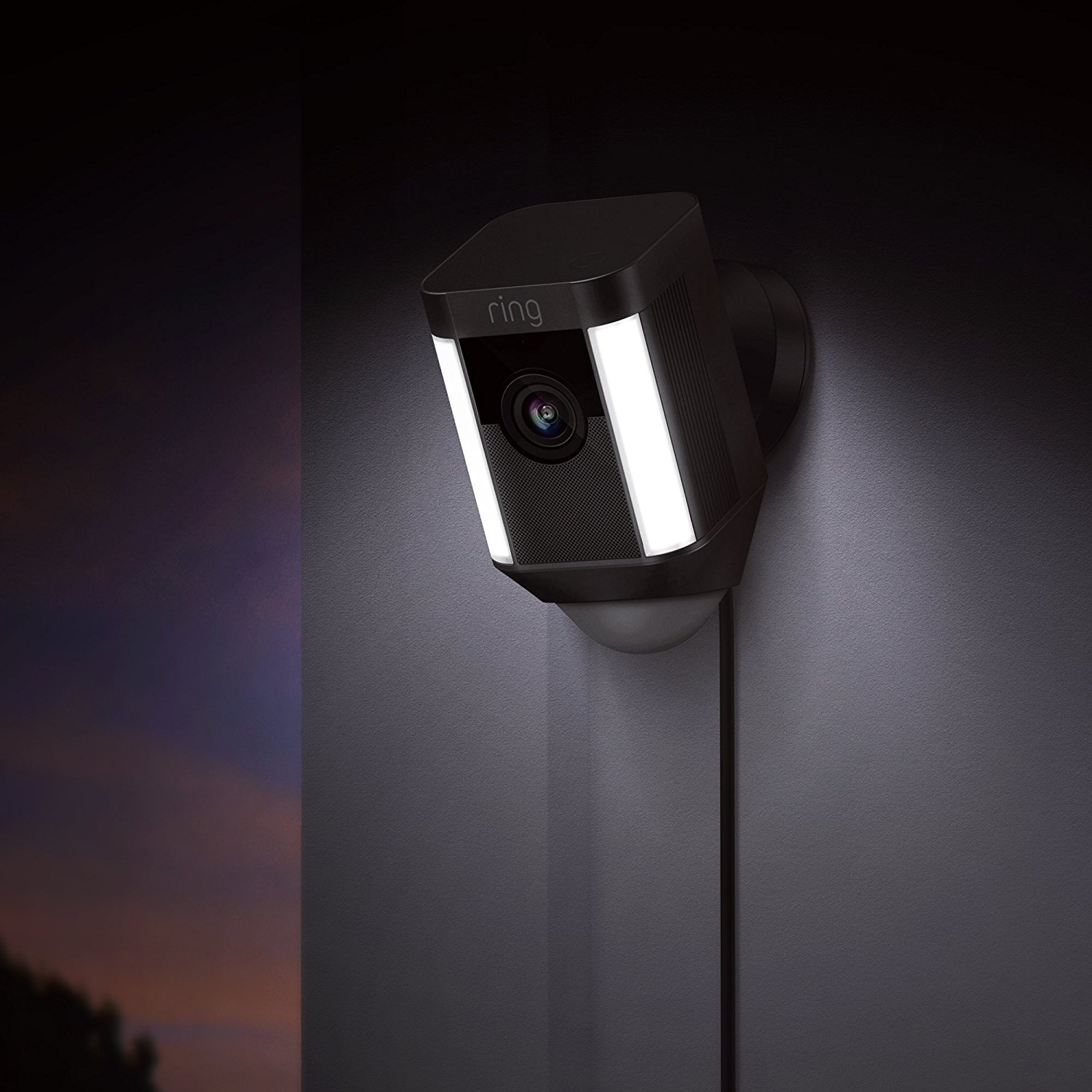 Ring: Spotlight Wired Camera - Black image