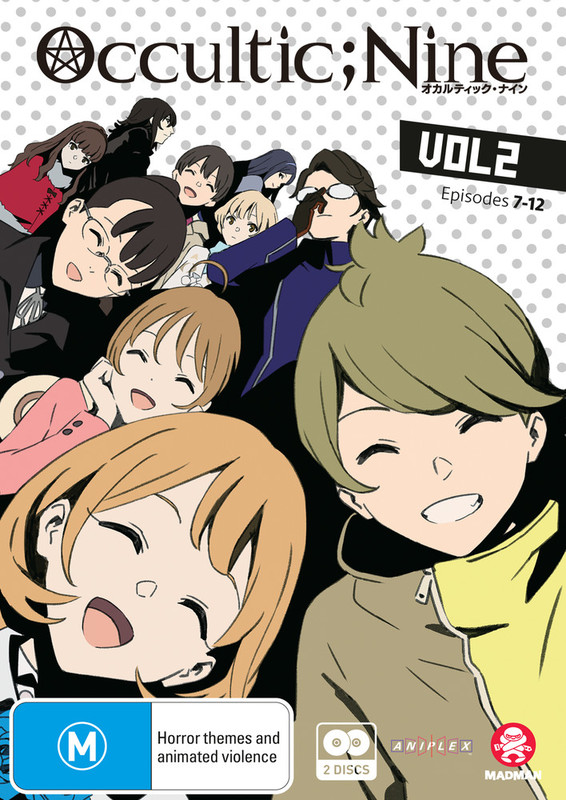 Occultic;nine Vol. 2 (eps 7-12) on DVD