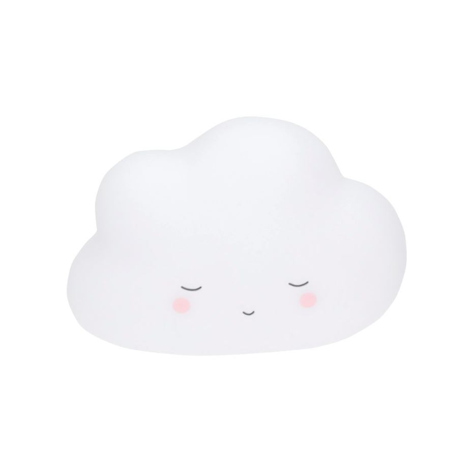 Little Dreams Cloud - Night Light- White image