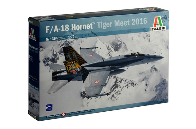 "Italeri 1/72 F/A-18 Hornet ""Tiger Meet 2016"" - Scale Model Kit"