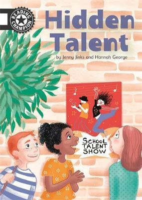 Reading Champion: Hidden Talent by Cath Jones image