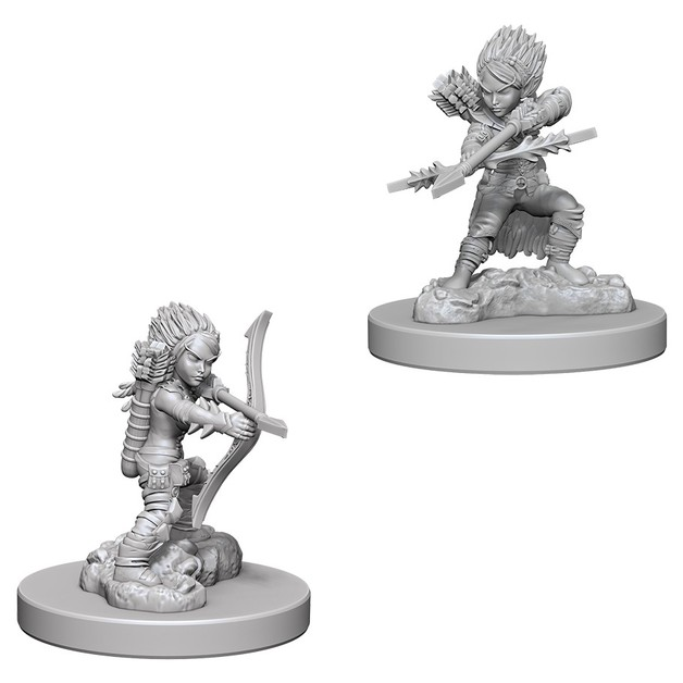 Pathfinder Deep Cuts: Unpainted Miniature Figures - Female Gnome Rogue