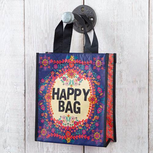 Natural Life: Recyclable Gift Bag - Purple Happy Bag (Medium)