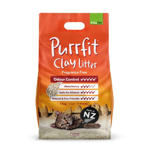 Vitapet: Purrfit Clay Litter (7L)
