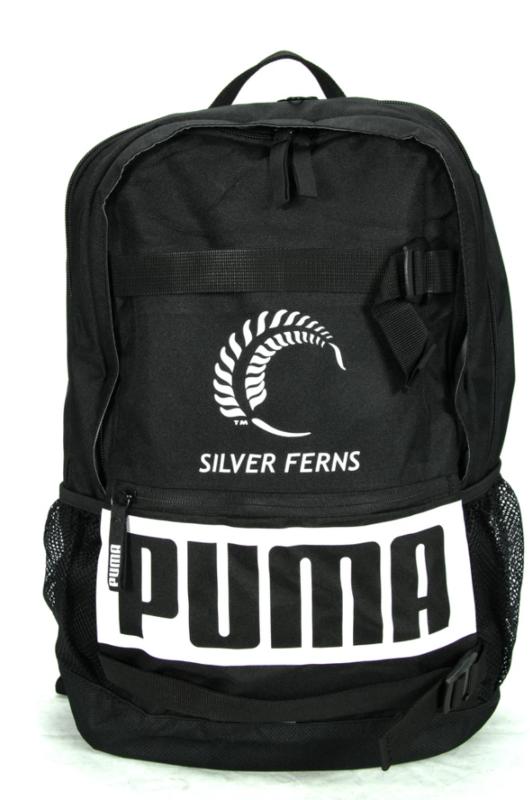 Puma: Silver Ferns Backpack (Black)