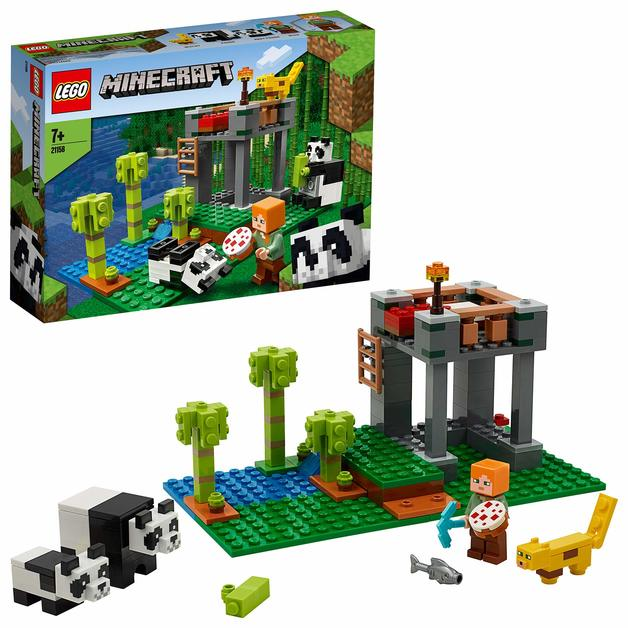 LEGO Minecraft: The Panda Nursery - (21158)