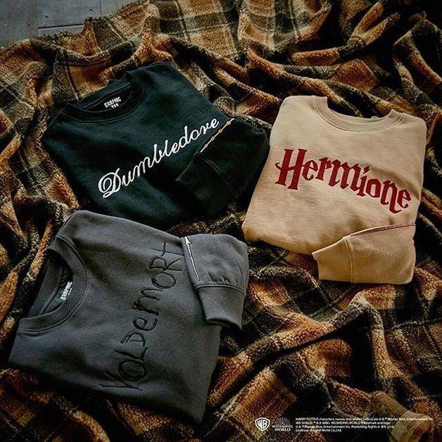 SPAO x Harry Potter - Dumbledore Sweatshirt L