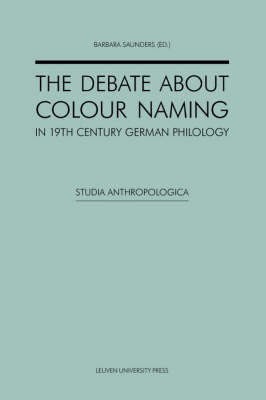 The Debate about Colour Naming in 19th-Century German Philology