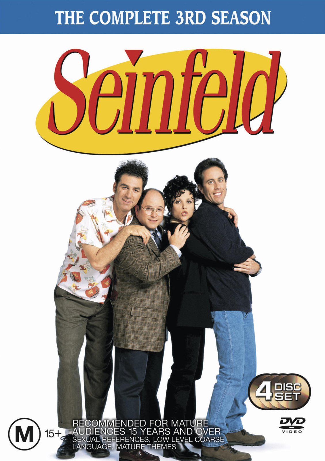 Seinfeld - The Complete 3rd Season on DVD image