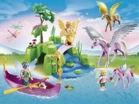 Playmobil: Fairies and Pegasus Club Set (5645) image
