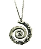Doctor Who Vortex Pendant Chain Necklace