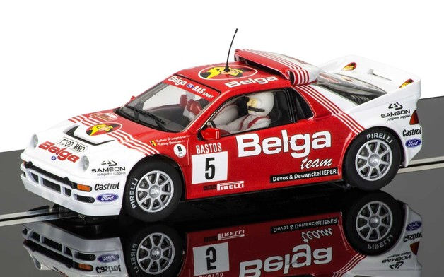 Scalextric: DPR Ford RS200 #5 - Slot Car