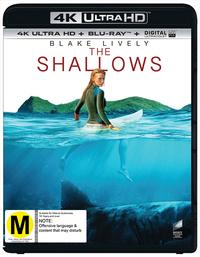 The Shallows (4K UHD + Blu-ray) DVD