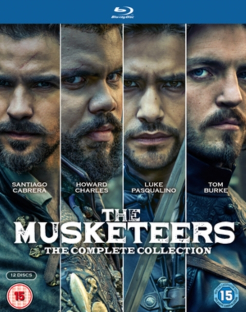 Musketeers The Complete Collection on Blu-ray