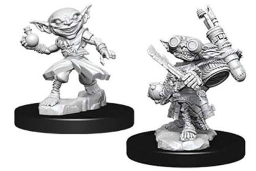 Pathfinder Deep Cuts: Unpainted Miniatures - Male Goblin Alchemist