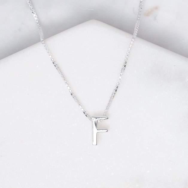 Midsummer Star: Alphabet Necklace - F