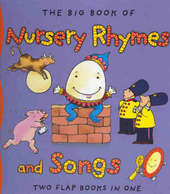 The Big Book of Nursery Rhymes and Songs by Mary Novick image
