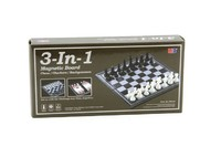 Magnetic 3 in 1 (Chess, Checkers, Backgammon)