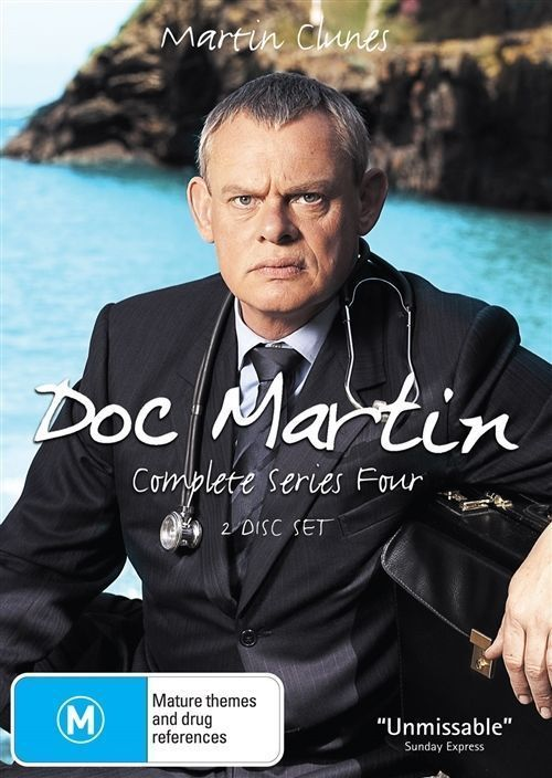 Doc Martin - Complete Series 4 (2 Disc Set) on DVD
