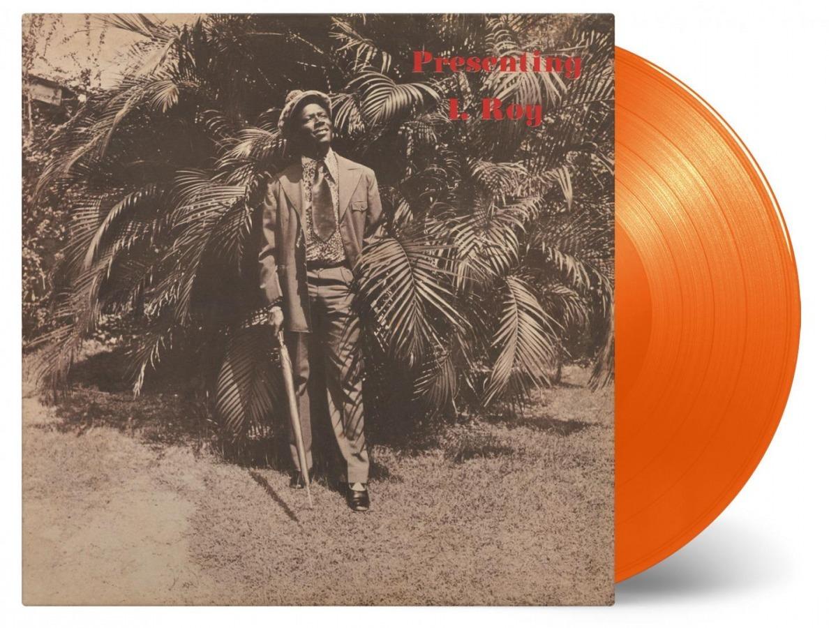 Gussie Presenting I Roy [Orange Vinyl] (LP) by I-Roy image