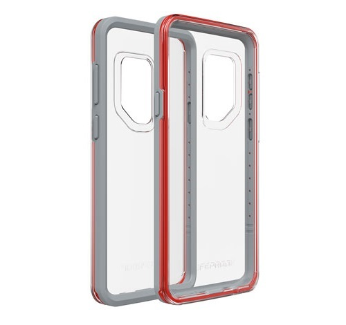 LifeProof: Slam Case for Samsung GS9+ - Cherry Grey