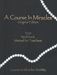 A Course in Miracles-Original Edition by Helen Schucman image