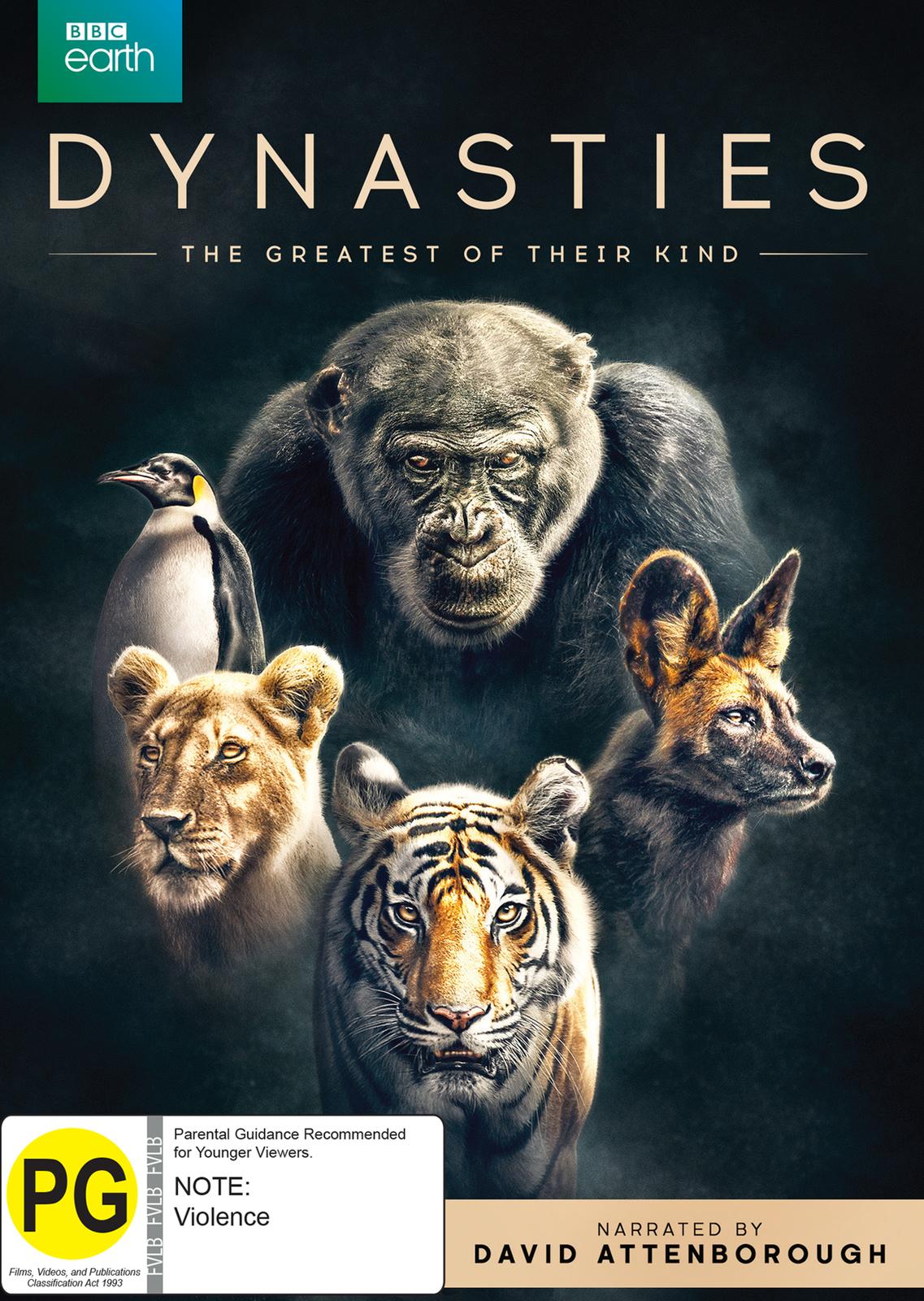 Dynasties on DVD image