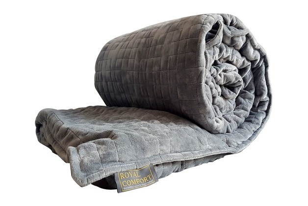 Royal Comfort Snug Embrace Weighted Gravity Blanket - King