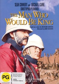 The Man Who Would Be King on DVD image