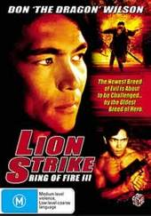 Lion Strike: Ring Of Fire Iii on DVD