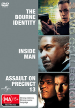 Bourne Identity / Inside Man / Assault On Precinct 13 - 3 DVD Collection (3 Disc Set) on DVD