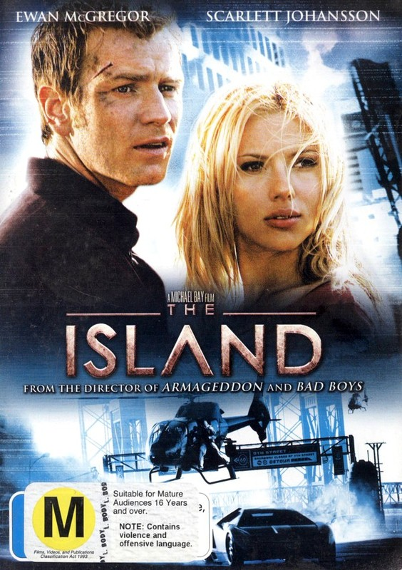 The Island on DVD