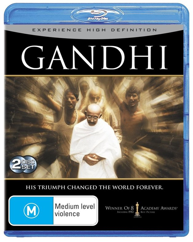 Gandhi on Blu-ray